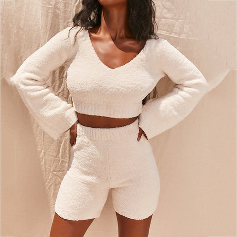 Two Piece Flare Sleeve Set