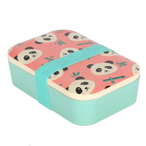 Penelope Panda Bamboo Lunch Box