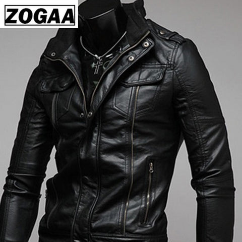 2020 Gentlemen's Vintage Retro Cavalier Leather Jacket