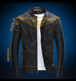 Smooth Wordless Leather Jacket