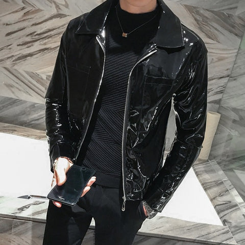 Patent Leather Icon Jacket