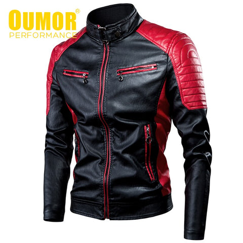 MotorBike Waterproof Leather Jacket