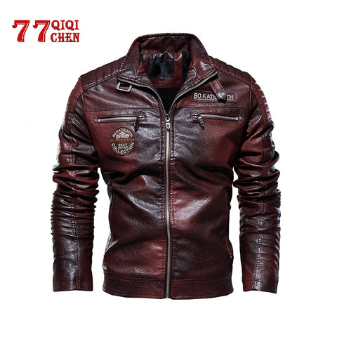 Tactical PU Leather Jacket