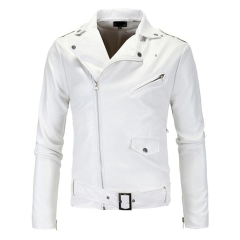 White Hot Artesian style Leather Jacket