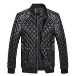 Business savvy Leather Jacket