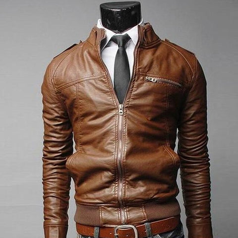 New 2020 Leather Business Jacket