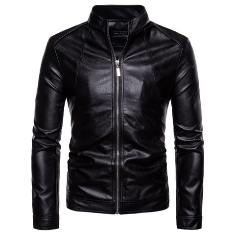 Top quality Slim Fit Leather Jacket