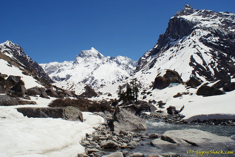 The Har ki Dun Trek in winter