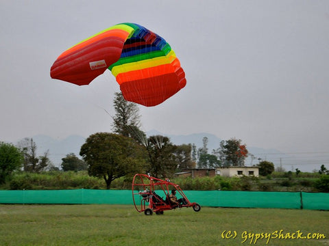 Para-gliding in the North-East