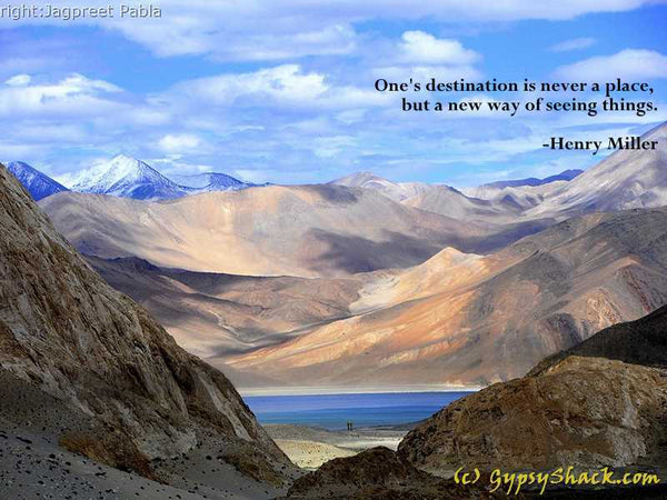 One's destination is never a place, but a new way of seeing things. ― Henry Miller