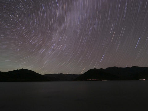 Stargazing at Pangong Lake