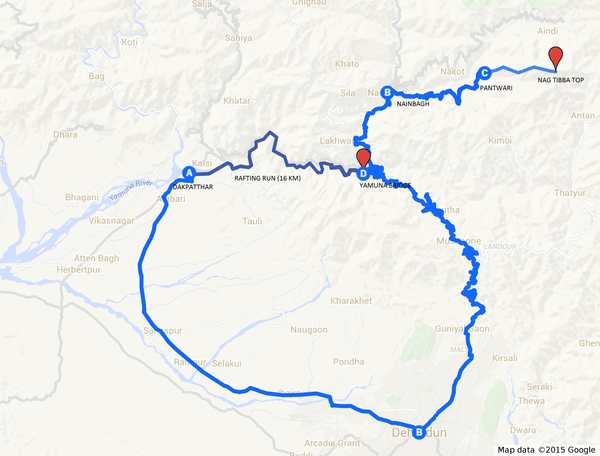 Nag Tibba Trek with Rafting