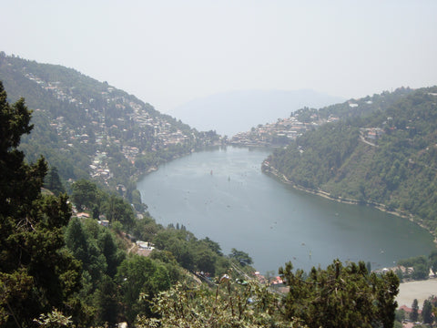 The Naini Lake at Nainital