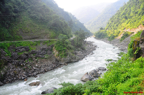 The Yamuna in Mussoorie