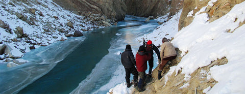 Winter Trekking in India  Chadar Trek