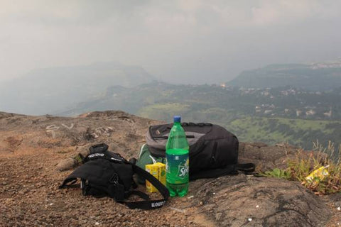 Keep yourself hydrated on treks by drinking juices and water