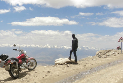 Ashish Adventure in Ladakh Traveling Solo
