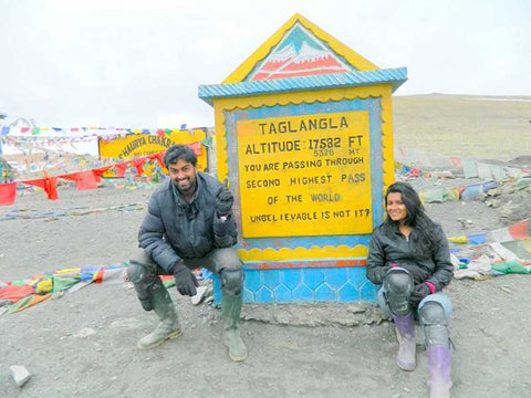 At the Khardung La Top