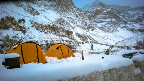 Trekking in INdia in Winters