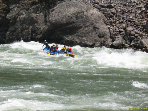 Rafting in the Kali River