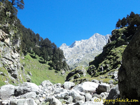 Enroute to Triund