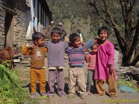 Kids in the Saryu Valley