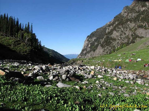 Near Hampta Pass