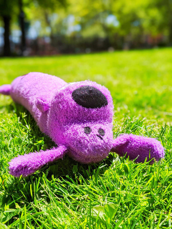 Cuddly Loofa Dog - The Cuddly Boutique