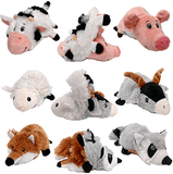 Reversible Cuddly Barnyard Friends - Fox & Racoon [2-in-1] - The Cuddly Boutique