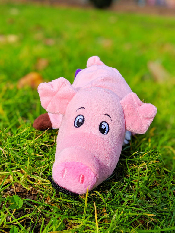 Reversible Cuddly Barnyard Friends - Pig & Cow [2-in-1] - The Cuddly Boutique
