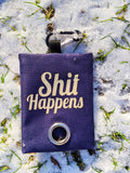 """Shit Happens"" Poop Bag Holder - The Cuddly Boutique"
