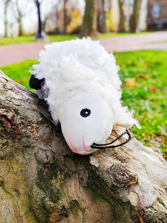 Reversible Cuddly Barnyard Friends - Sheep & Goat [2-in-1] - The Cuddly Boutique