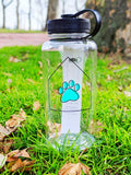 The Cuddly Cottage Water Bottle - The Cuddly Boutique