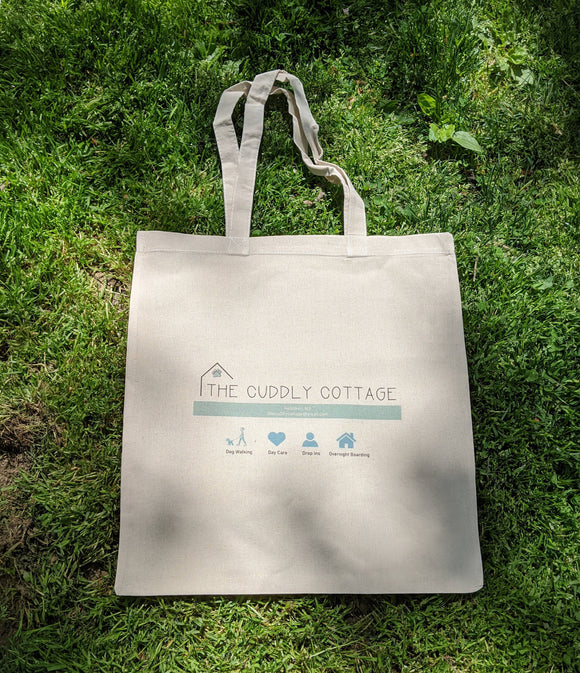 Cuddly Cottage Tote Bag - The Cuddly Boutique