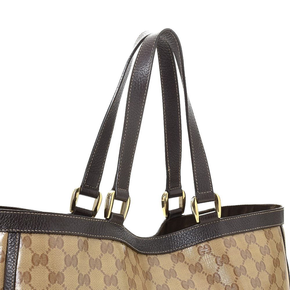 Gucci - GG Crystal Abbey Tote - 15298837315659