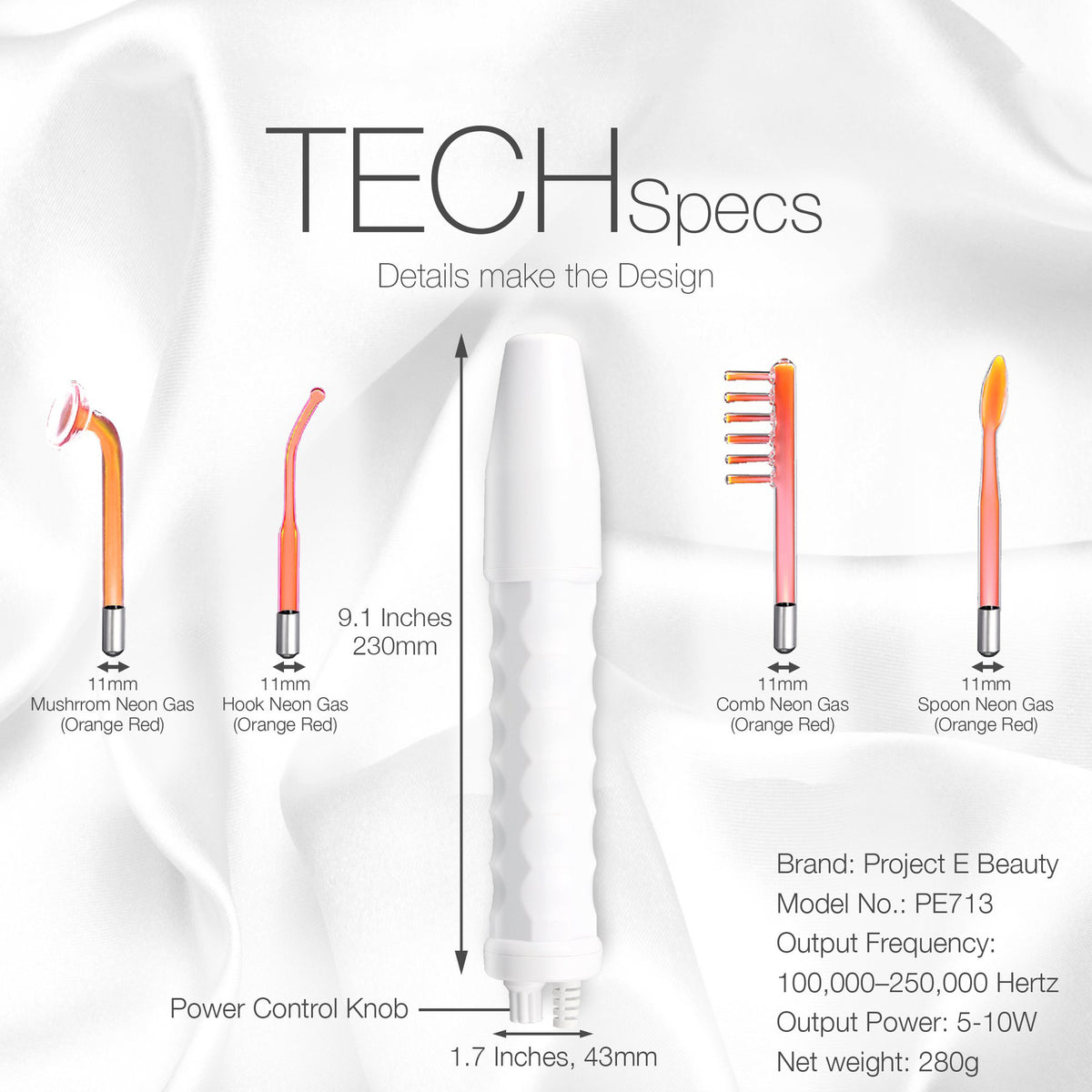 SoulTouch™ - High Frequency Therapy Wand