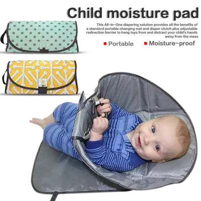 3 In 1 Baby Diaper Changing Pad
