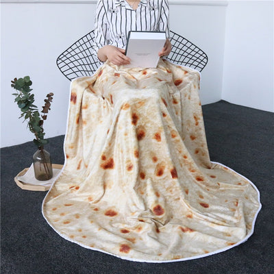 (Downsell #1)3D Fleece Burrito Blanket