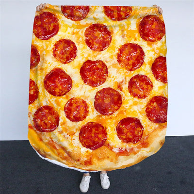 (Upsell#2) 3D Fleece Burrito Blanket