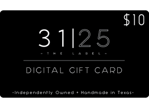 31 | 25-THE LABEL GIFT CARD