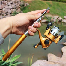 Load image into Gallery viewer, Pocket Fishing Rod