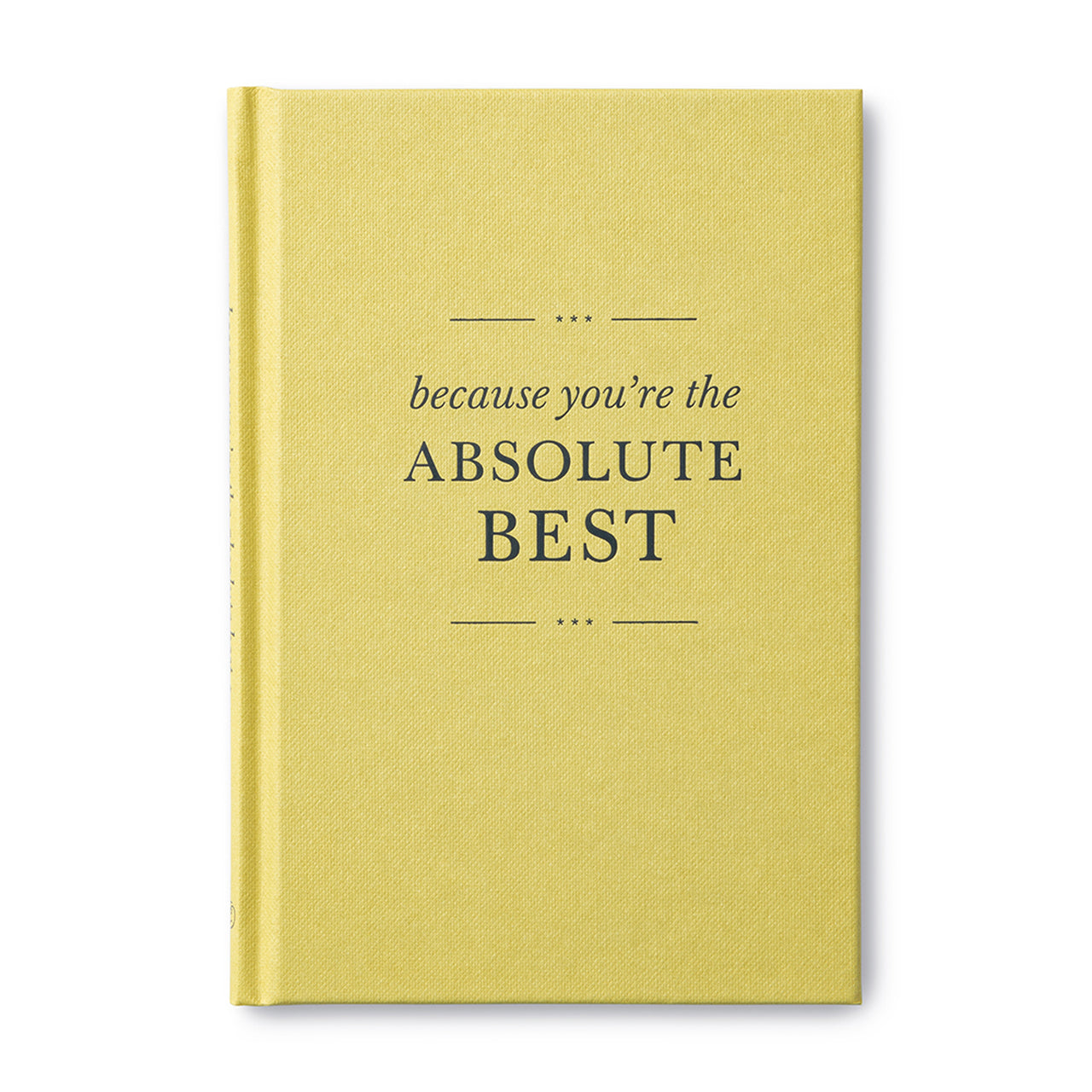 Because You're the Absolute Best, Book