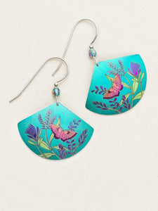 Garden Whimsy Earring, Teal