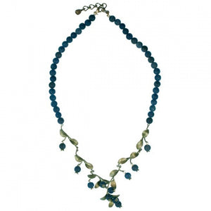 Blueberry Bead Necklace
