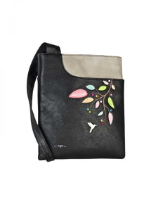 Tweet Crossbody, Black