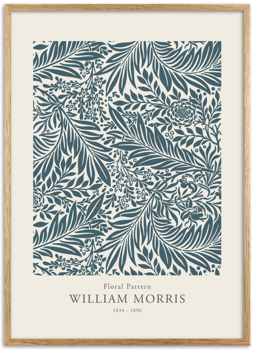William Morris - Floral Pattern 02