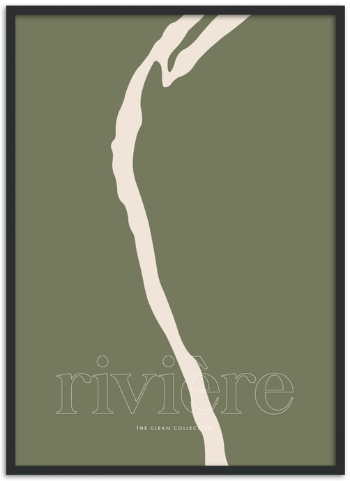No. 3 Riveré khaki green