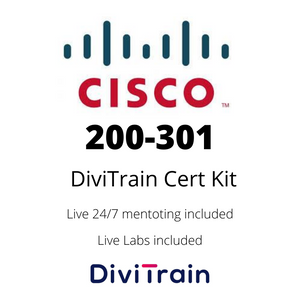 Cert Kit 200-301: Cisco Certified Network Associate CCNA | | 24/7 Live Help and Live Labs Included | 365 Days Access