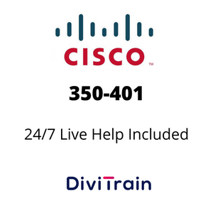 Cisco 350-401: Implementing Cisco Enterprise Network Core Technologies | 24/7 Live Help Included | 365 Days Access