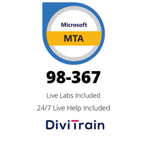 Microsoft MTA 98-367: Security Fundamentals | 27/7 Live Help and Live Labs included | 365 Days Access